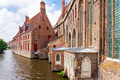 Canal with Church in Bruges - PhotoDune Item for Sale