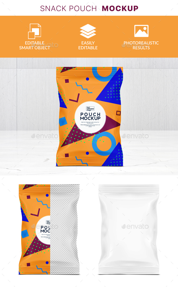 GraphicRiver Chips Pouch Psd Mockup 21121644