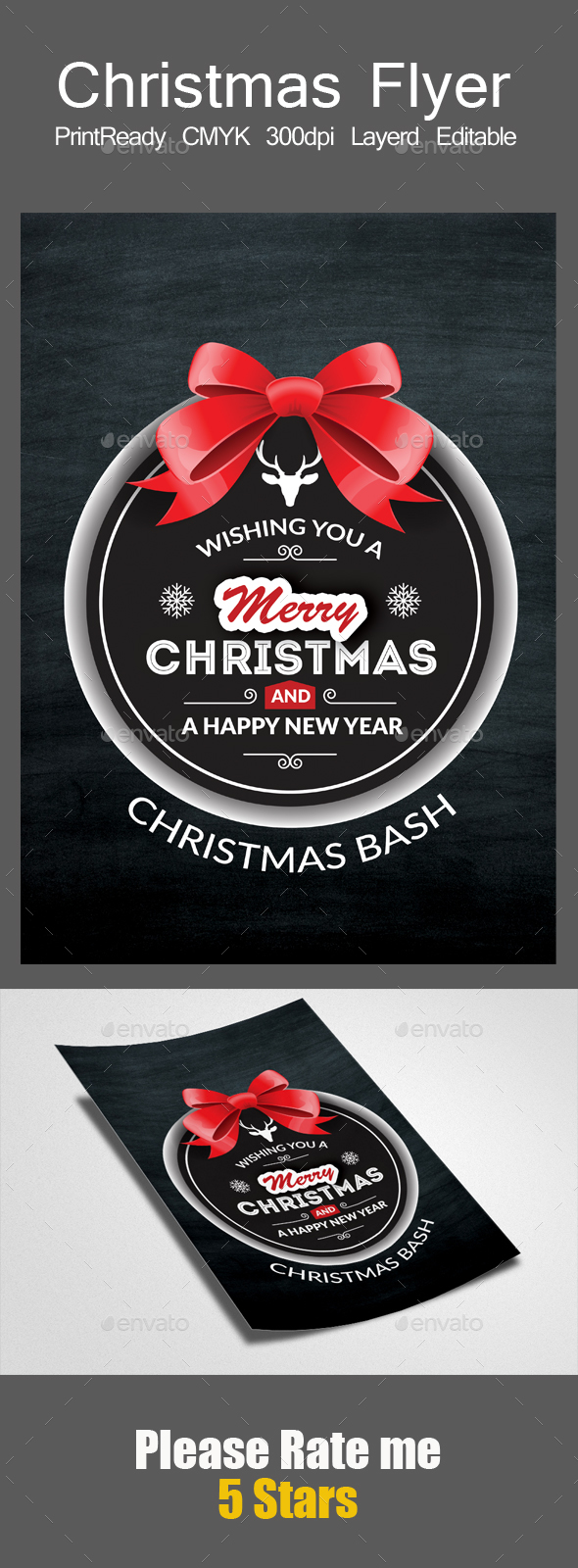 GraphicRiver Christmas Festival Flyer Psd 21124568