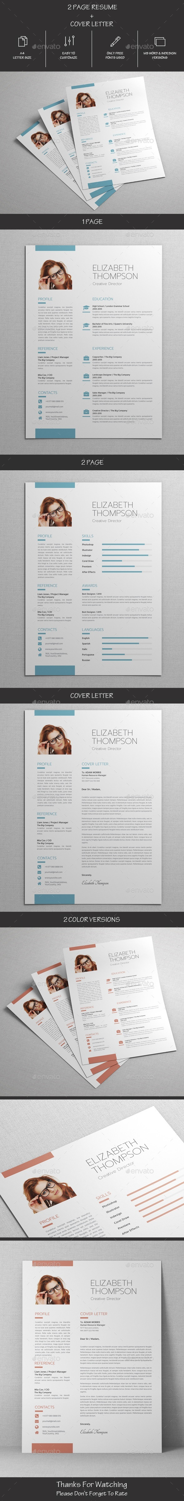 GraphicRiver Resume 21124574