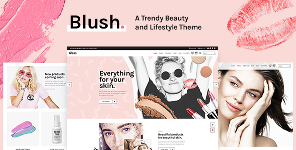 Image of Blush - A Trendy Beauty and Lifestyle Theme