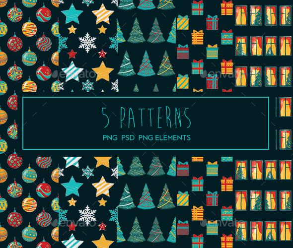 Christmas Patterns - Patterns Backgrounds