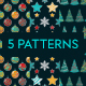 Christmas Patterns - GraphicRiver Item for Sale