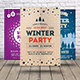 Winter Party Flyer Bundle