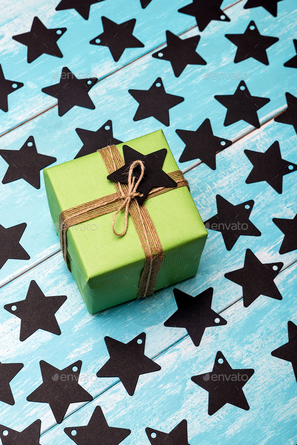 Christmas gifts - Stock Photo - Images