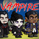 Vampire 2D Game Character Sprite Sheet - GraphicRiver Item for Sale