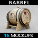 Barrel Mockup - GraphicRiver Item for Sale
