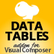 Data Tables Addon for Visual Composer