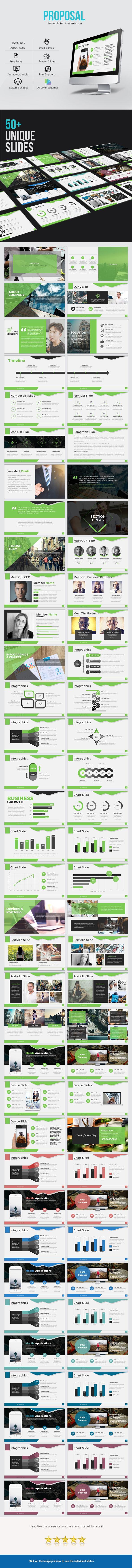 GraphicRiver Proposal Power Point Presentation 21124880