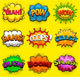 Multicolored Comic Sound Effects - GraphicRiver Item for Sale