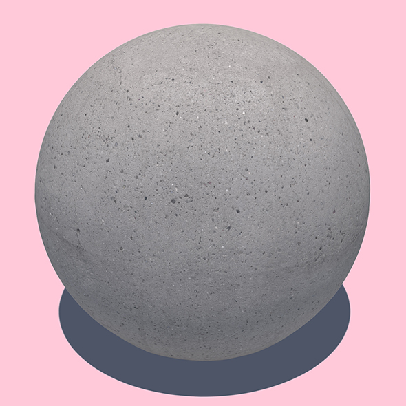 Concrete Ball - 3DOcean Item for Sale