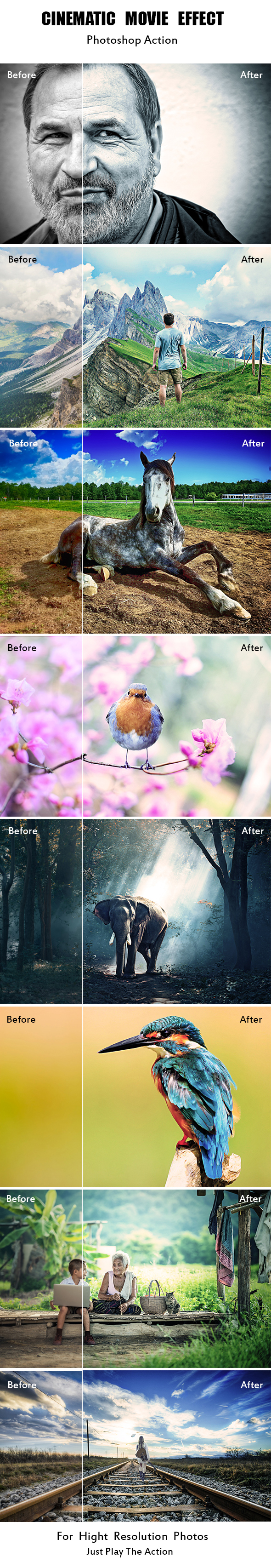 GraphicRiver Cinematic Movie Effect 21124917