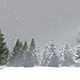 Christmas Snow Tree - VideoHive Item for Sale