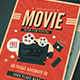 Old Retro Movie Festival Flyer - GraphicRiver Item for Sale