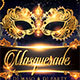 Masquerade Carnival Party Flyer - GraphicRiver Item for Sale
