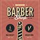 Old Retro Barbershop Flyer - GraphicRiver Item for Sale