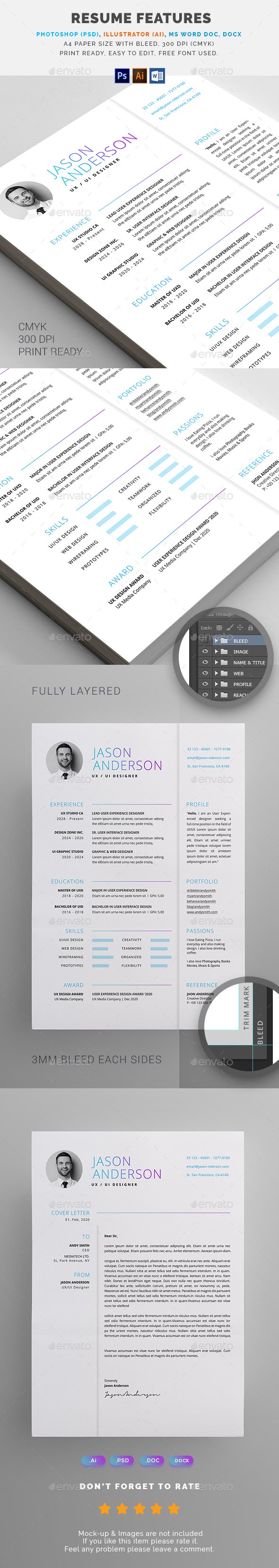 GraphicRiver Resume 21125191