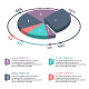 Isometric 3D PieChart Infographics