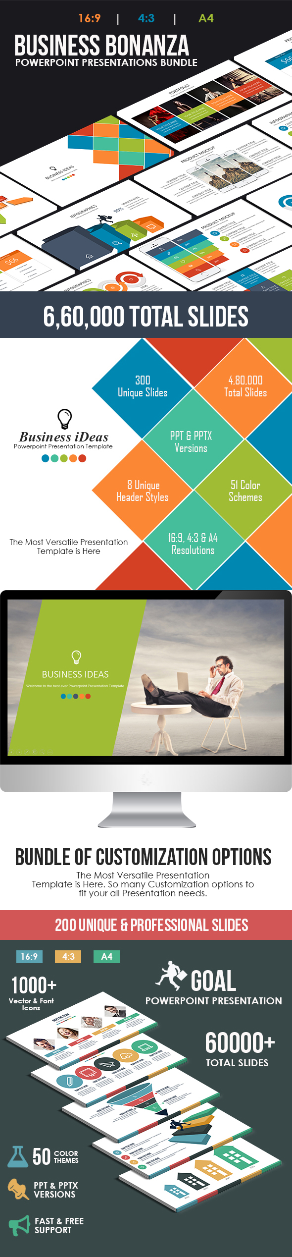 Business Bonanza Powerpoint Bundle - Business PowerPoint Templates