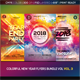 Colorful New Year Flyers in Bundle Vol 3