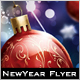 Cherish New Year & Christmas Flyer - GraphicRiver Item for Sale