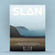 Slan Magazine Template