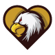 Eagle Heart Logo