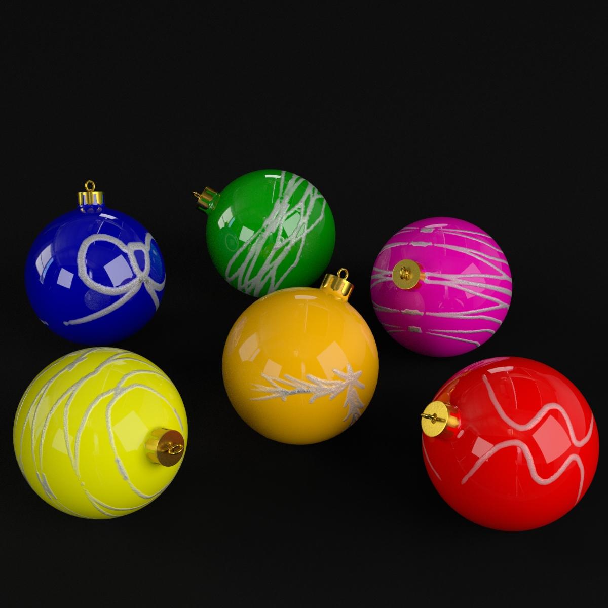 Christmas Balls deco
