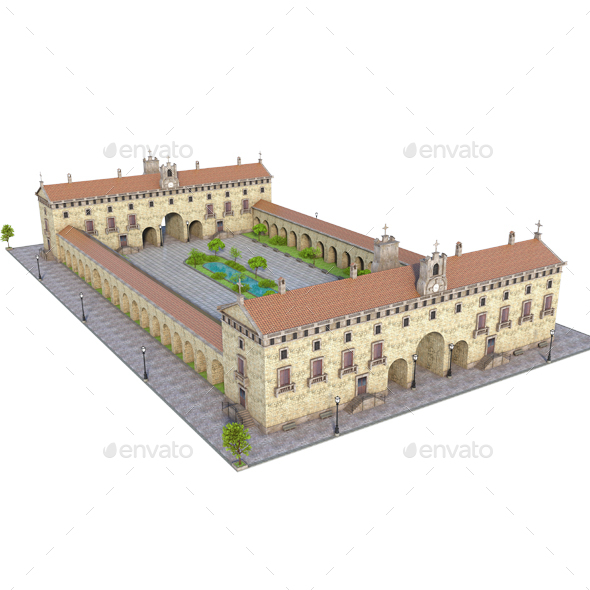 GraphicRiver Old Monastery 21126073