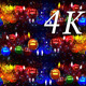 New Year Toys Pattern 4K - VideoHive Item for Sale
