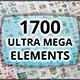 Ultra Mega Bundle (1700 Elements) - GraphicRiver Item for Sale