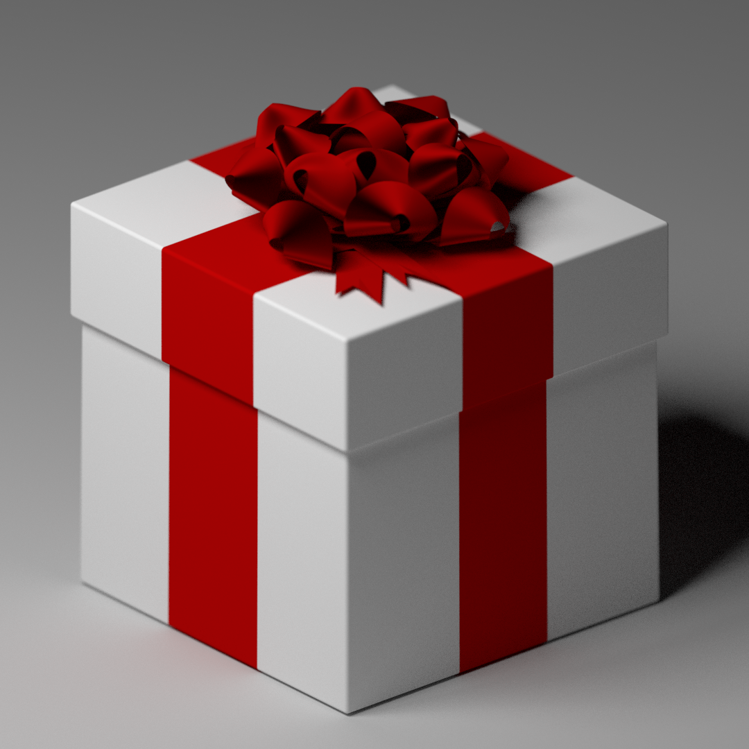 Gifts with a Ribbon Bow