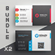 Business Card Bundle 44 - GraphicRiver Item for Sale