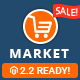 Market - Premium Responsive Magento 2 and 1.9 Store Theme - ThemeForest Item for Sale