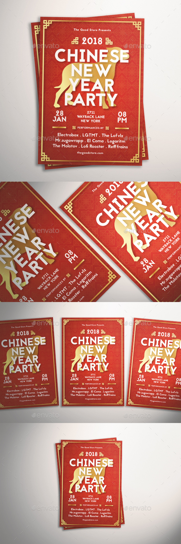 GraphicRiver Chinese New Year Flyer 21126533