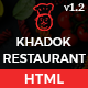 Khadok Restaurant - Restaurant Responsive HTML5 Template - ThemeForest Item for Sale