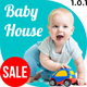 Baby House - Kids School, Kinder Garden and Play School Multipurpose HTML5 Template