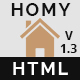 Homy - Real Estate  HTML Template - ThemeForest Item for Sale