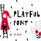 Playful - Display typeface