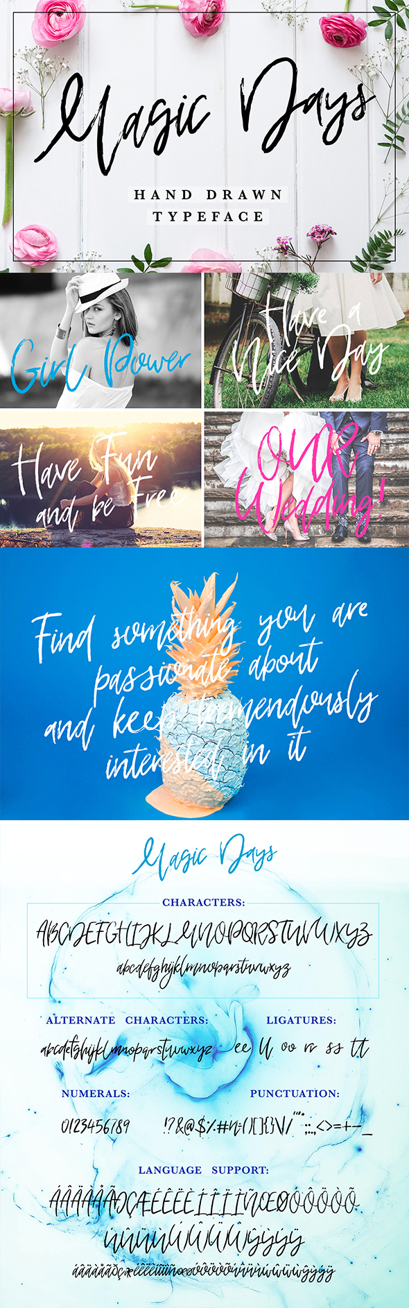 GraphicRiver Magic Days Hand Drawn Font 21126986