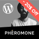 Pheromone - Creative Multi-Concept WordPress Theme - ThemeForest Item for Sale