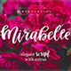 Mirabelle Script Font with Extras!