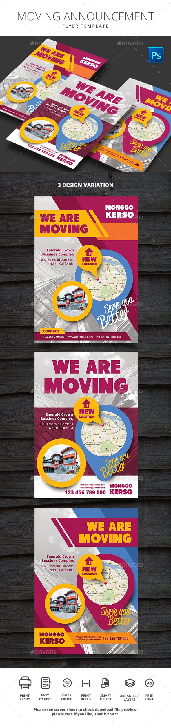 GraphicRiver Moving Announcement 21127030