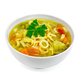Soup Minestrone in white bowl with parsley - PhotoDune Item for Sale
