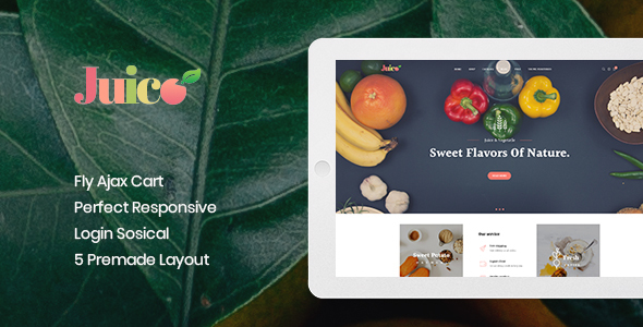 Leo Juice Prestashop Theme
