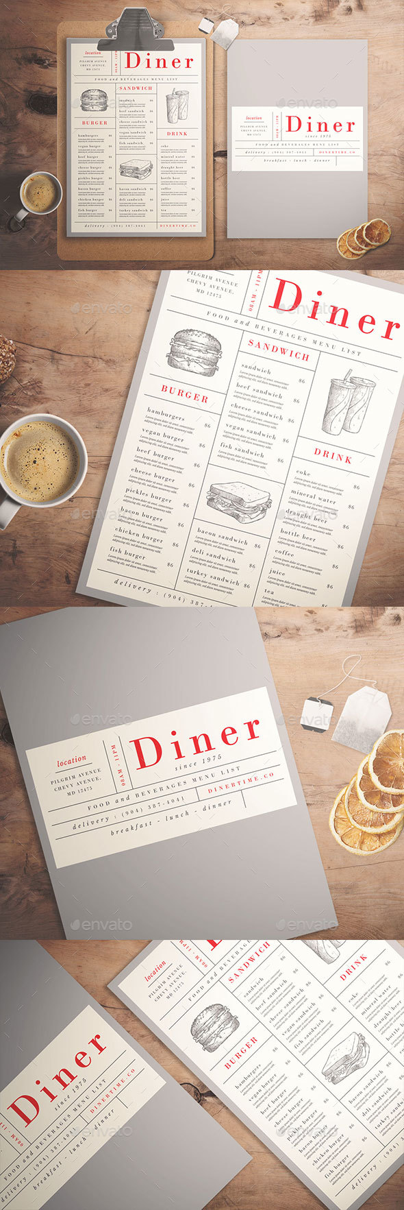 GraphicRiver Food Menu Vol 02 21127273