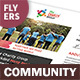 Community Service Flyers 2 – 4 Options - GraphicRiver Item for Sale
