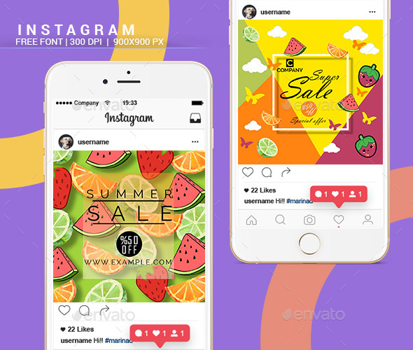 GraphicRiver Instagram Banners 21124777