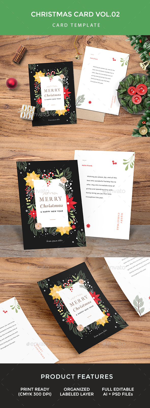 GraphicRiver Christmas Card 21127402