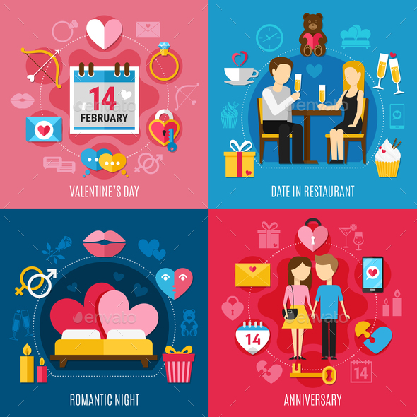 GraphicRiver Valentines Day Concept 21127411